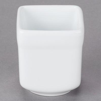 World Tableware SL-52 Slate 2.5 oz. Ultra Bright White Sq...