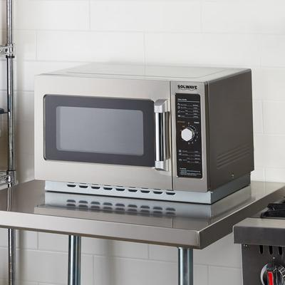 Solwave 1000W Stackable Commercial Microwave with Large 1...
