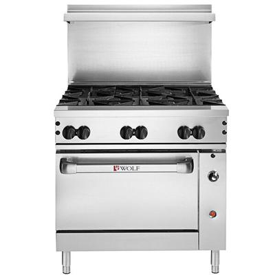 "Wolf C36C-6BN Challenger XL Series Natural Gas 36"" Manual..."