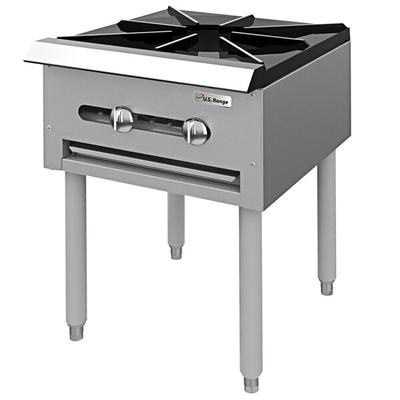 Garland SP-1844 Natural Gas Countertop Stock Pot Stove wi...