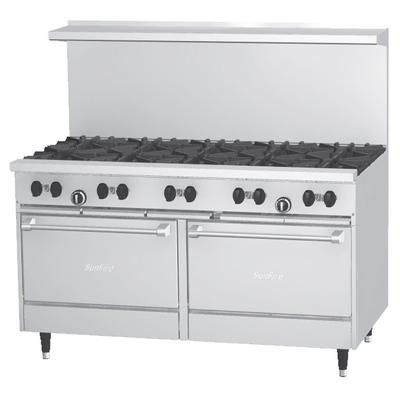 Garland SunFire Series X60-10RR Liquid Propane 10 Burner ...