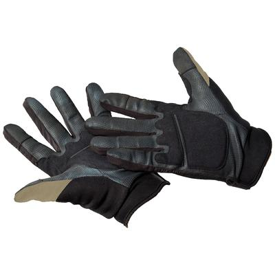 Caldwell Ultimate Shooting Gloves Polyester and Spandex Sand Large/XL