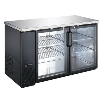 eQuipped VUBB2 59 (2) Section Bar Refrigerator - Swinging...
