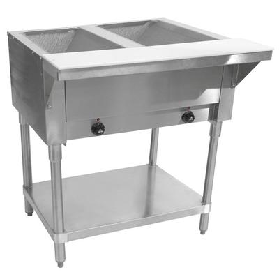 Advance Tabco HF-2E-120 Two Pan Electric Steam Table with...