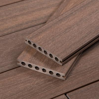 TruOrganics Composite Decking, 16 Ft Boards, Dark Brown, Sample