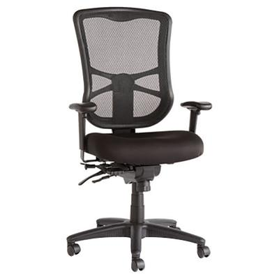 Alera ALEEL41ME10B Elusion High-Back Black Multifunction ...