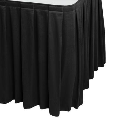 "Snap Drape WYN3V21629-BLK Wyndham 21' 6"" x 29"" Black Box ..."