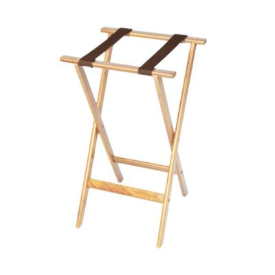 "CSL 1170NAT-1 Deluxe 30"" Natural Wood Tray Stand with Bro..."