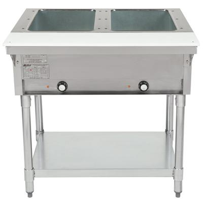 Eagle Group DHT Open Well Five Pan Electric Hot Food Table V - Electric hot food table