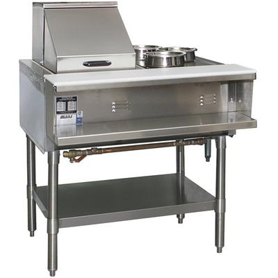 Eagle Group SHT2 Liquid Propane Steam Table Two Pan - All...