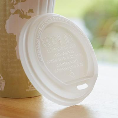 Eco-Products EP-ECOLID-W 10-20 oz. Compostable Plastic Ho...