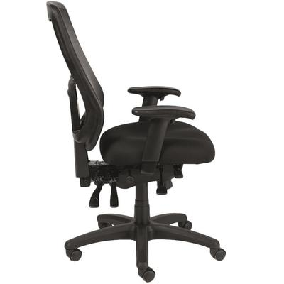 Eurotech Seating MFHB9SL-5806 Apollo Black Dove Fabric / ...
