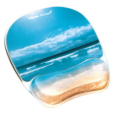 Fellowes 9179301 Sandy Beach Gel Mouse Pad with Wrist Res...