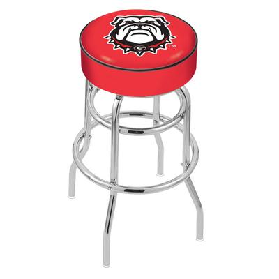 Holland Bar Stool L7C130GA-Dog University of Georgia Doub...