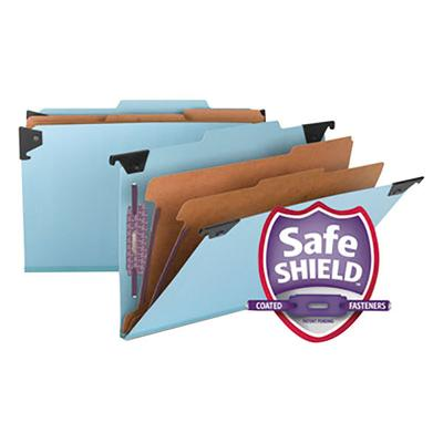 Smead 65165 FasTab SafeSHEILD Legal Size Hanging Classifi...