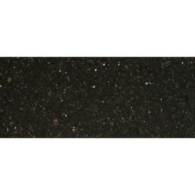 "Art Marble G206 30"" x 72"" Black Galaxy Granite Tabletop"