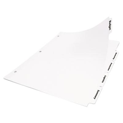 Avery Office Essentials 11338 5-Tab White Index Divider S...