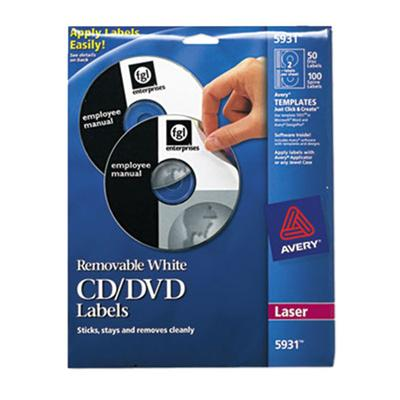 Dennison Avery - Labels - 2 PCS. Laser (5931)