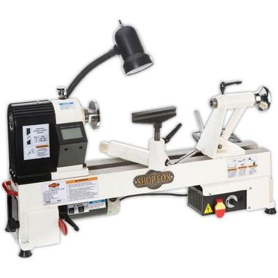 Shop Fox Tools 12in x 15in Benchtop Wood Lathe W1836