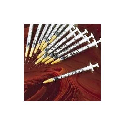 BD Company Single-Use Syringe/ Precisionglide Needle Comb...