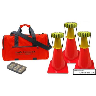 Powerflare Outdoor Gear 3-Position Traffic Control Kit Gr...