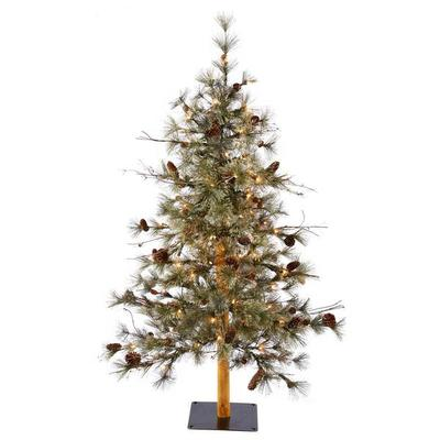 Vickerman 425558 - 3' Dakota Alpine Tree with 50 Clear Li...