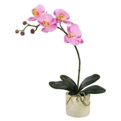"Vickerman 462973 - 20"" Potted Orchid x 4-Lavender (FC1705..."