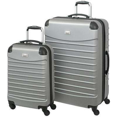 Geoffrey Beene 2PC Hardside Luggage Set