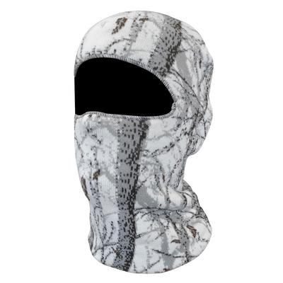 Quiet Wear Men's 1-Hole Mask White/Camouflage/Snow Size O...