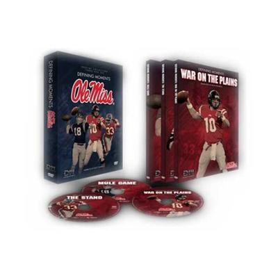 Anderson Ole Miss Rebels 3-Disc Defining Moments DVD Set