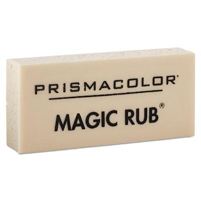 Prismacolor 73201 Magic Rub White Vinyl Eraser - 12/Pack