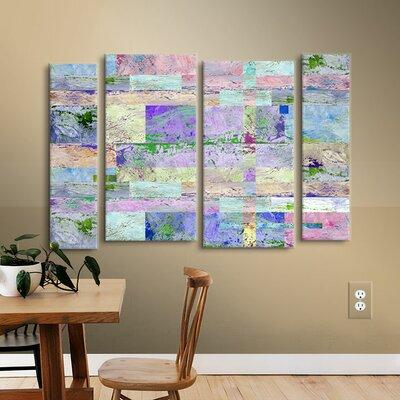 Brayden Studio Abstract I 4 Piece Painting Print on Wrapp...