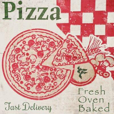 Buy Art For Less 'Vintage Fresh Oven Baked Pizza Box Rest...