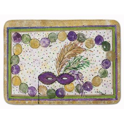 East Urban Home Mardi Gras Beads Memory Foam Bath Rug EAA...