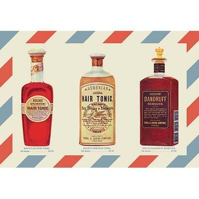 Buyenlarge Two Bottles of Hair Tonic and One Bottle of Da...