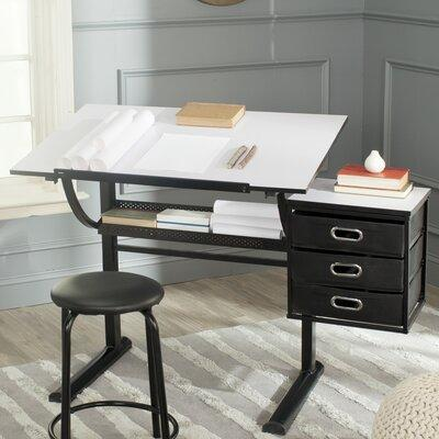 Safavieh Harvard Drafting Table and Chair Set FOX2218A