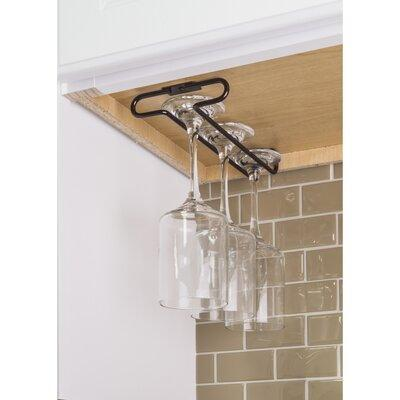 Hardware Resources Under Cabinet Hanging Wine Glass Rack ...