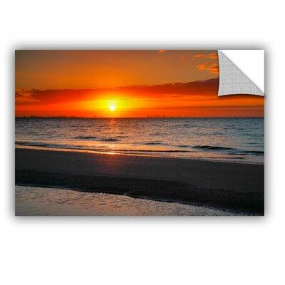 ArtWall ArtApeelz Sunrise Over Sanibel by Steve Ainsworth...
