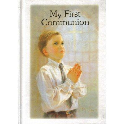 Northlight Religious My First Communion Boys Prayer and R...