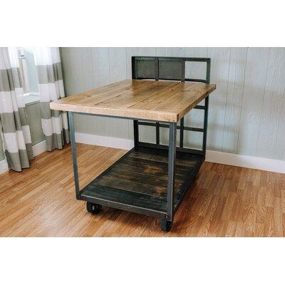 17 Stories Jambusaria Vintage Factory Dining Table STSS7190