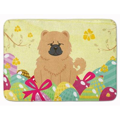 The Holiday Aisle Easter Eggs Chow Chow Memory Foam Bath ...