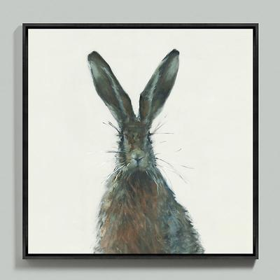 Ballard Designs Henri the Hare Framed Canvas 54