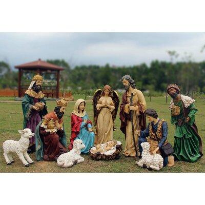 The Holiday Aisle 12 Piece Outdoor Nativity Lawn art/Figu...