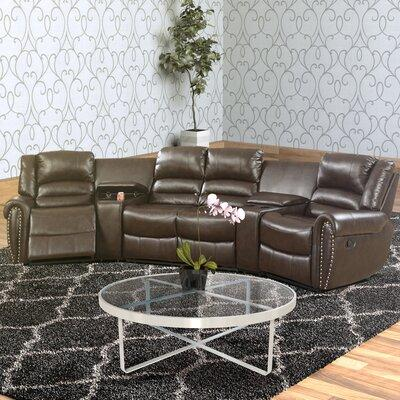 Darby Home Co Sanora Motional Home Theater 5 Piece Sectio...
