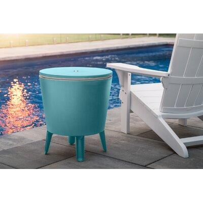 Keter Cool Bar Teal Patio Table And Cooler