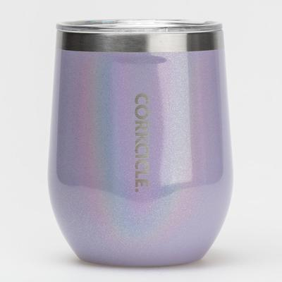Corkcicle Stemless Wine Glass Premium Colors Hydration Be...