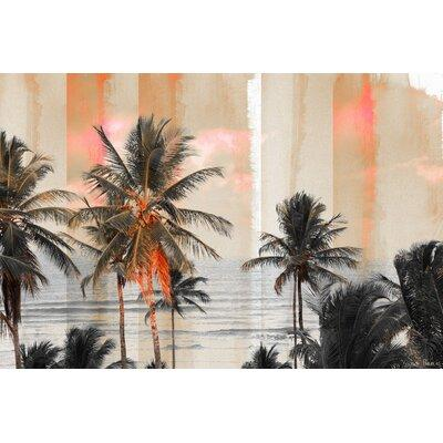 Parvez Taj Bahia Painting Print on Wrapped Canvas, Blue