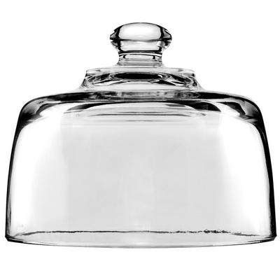 "Anchor Hocking 140Q 5 5/16"" Glass Cheese Dome - 12/Case"