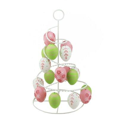 Northlight Floral Cut-Out Spring Easter Egg Tree NORTHLIG...
