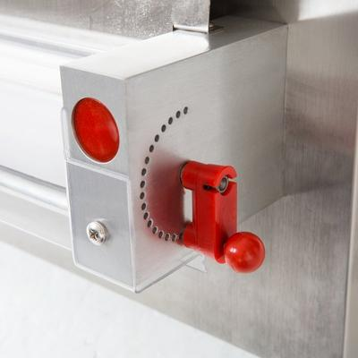 "Estella EDS12S Countertop 12"" One Stage Dough Sheeter - 2..."